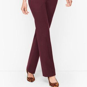 Talbots NWT Burgundy Tailored Pants Size 16